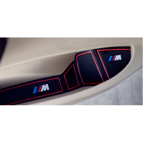 BMW   CAR SLOT PAD NON SLIP CUP MAT FOR BMW NEW 3 SERIES ...