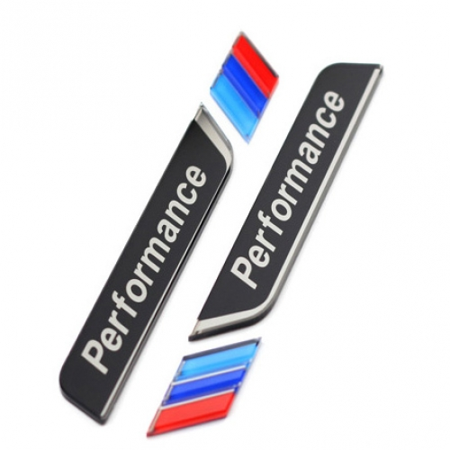 M Performance Window Stickers