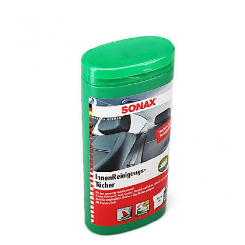 sonax interior cleaning wipes v spec auto accessories online store london england united kingdom. Black Bedroom Furniture Sets. Home Design Ideas
